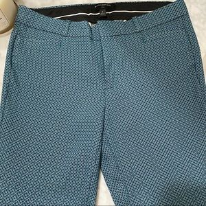 Turquoise Banana Republic Sloan Fit Skinny Pants